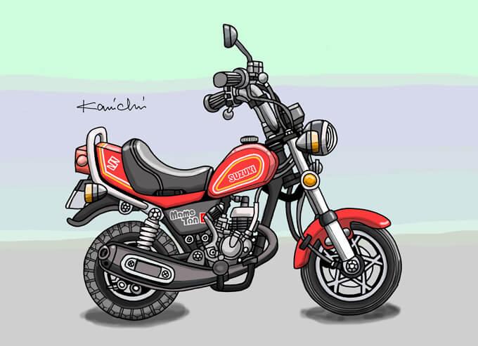 レトロバイク・グラフティ第34回 SUZUKI MAMETAN(スズキ マメタン)1978年