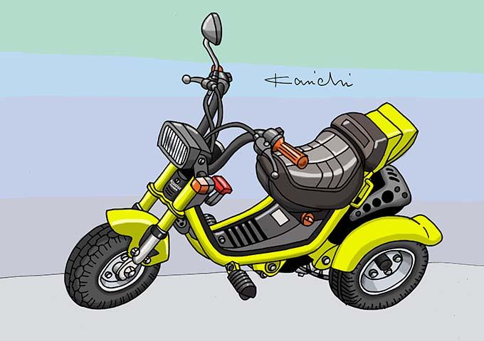レトロバイク・グラフティ第38回 HONDA ROADFOX(ホンダ ロードフォックス) 1984年 メイン画像