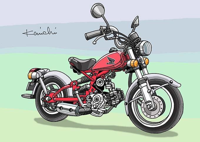 レトロバイク・グラフティ第40回 HONDA SOLO(ホンダ ソロ) 2003年 メイン画像