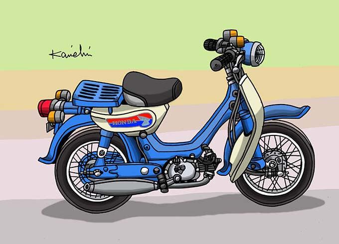 レトロバイク・グラフティ第43回 HONDA LITTLE HONDA(ホンダ リトルホンダ) 1966年 メイン画像