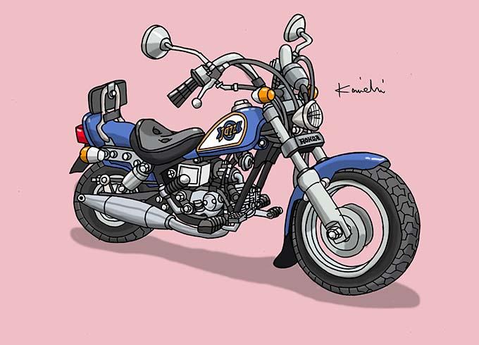 レトロバイク・グラフティ第53回HONDA JAZZ(ホンダ ジャズ)1986年 メイン画像