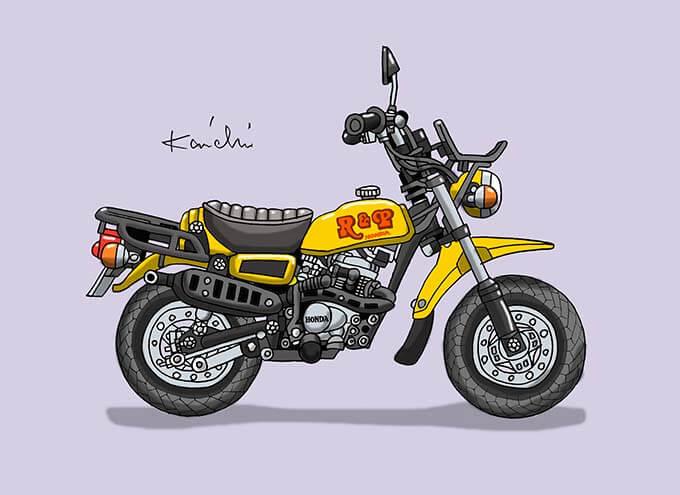 レトロバイク・グラフティ第57回HONDA R&P(ホンダ アールアンドピー)1977年 メイン画像