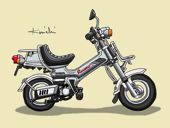レトロバイク・グラフティ第59回HONDA RUNAWAY(ホンダ ランナウェイ)1982年 メイン画像