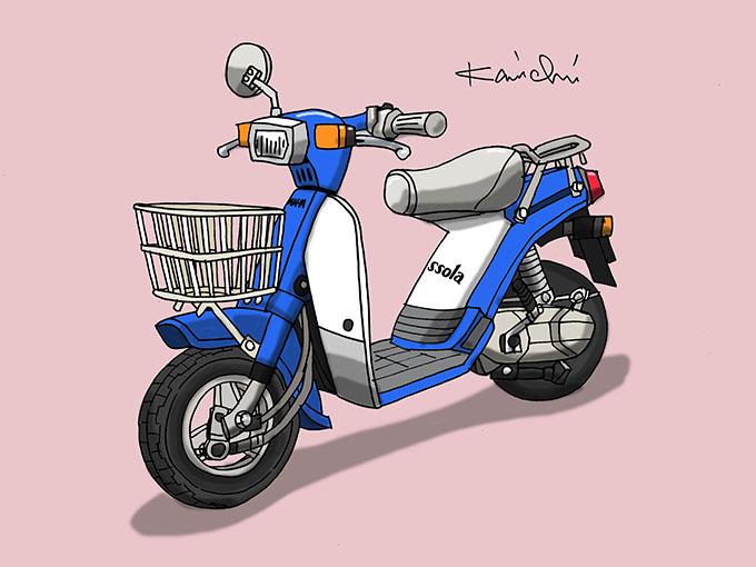 レトロバイク・グラフティ第60回YAMAHA PASSOLA(ヤマハ パッソーラ)1978年 メイン画像
