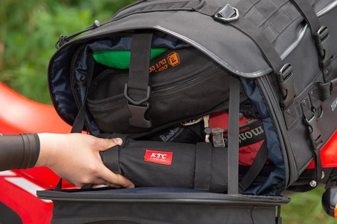 ガルル厳選の使えるツーリングシートバッグ01/IGAYA CAMP TOURING SEAT BAG