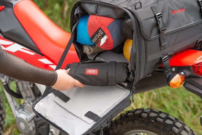 ガルル厳選の使えるツーリングシートバッグ02/HenlyBegins ツーリングシートバッグ DH-724