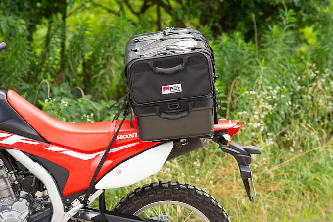 ガルル厳選の使えるツーリングシートバッグ04/MOTO FIZZ グランドシートバッグ MFK-222