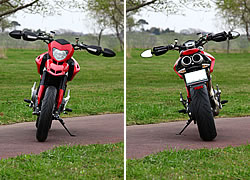 ドゥカティ Hypermotard 1100EVO 写真