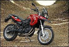 BMW Motorrad F650GS 写真