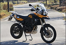 BMW Motorrad F800GS 写真