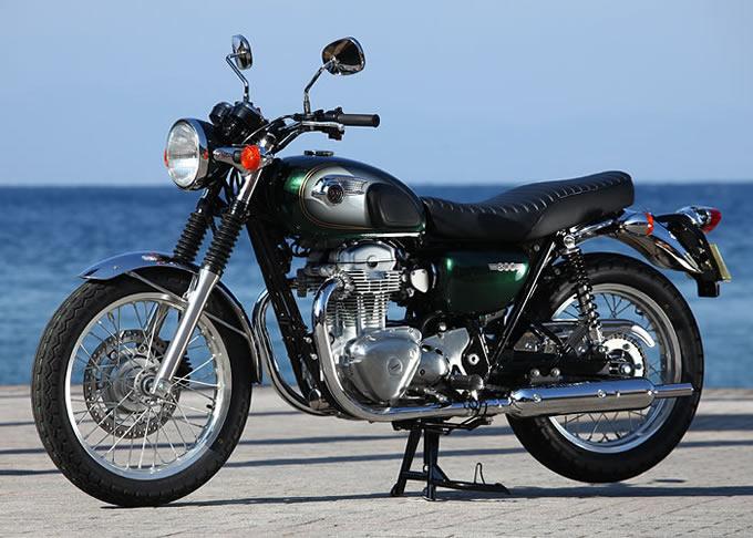 カワサキ W800の画像