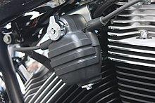 FXCWC ロッカーC にも搭載されていた手榴弾型のイグニッションコイル。