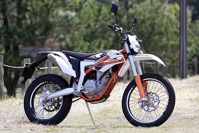 KTM フリーライド 350の画像