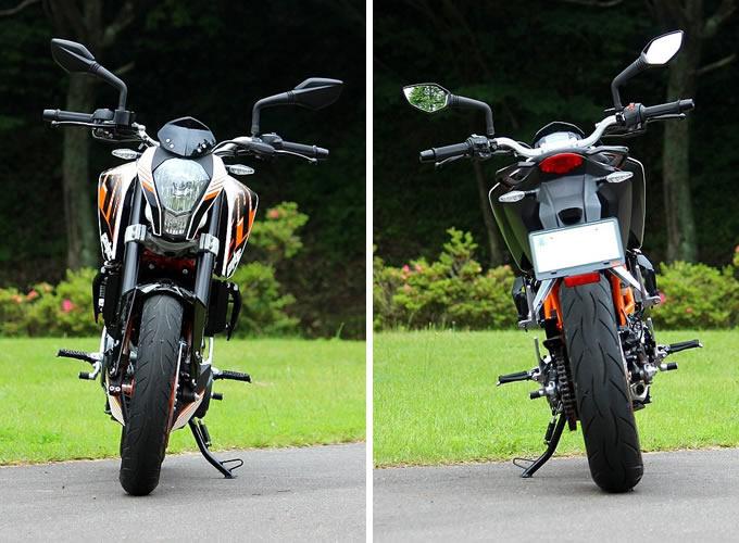 KTM 390 デュークの画像
