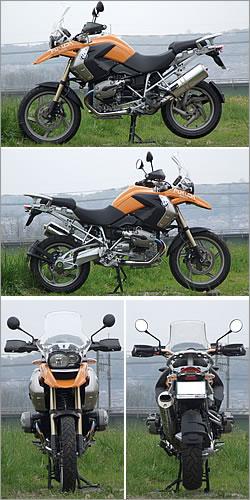 BMW Motorrad R1200GS 写真