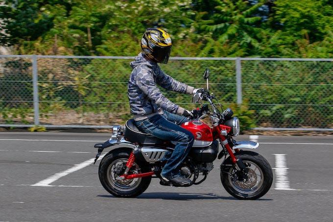 ホンダ MONKEY 125 ABSの試乗インプレッション