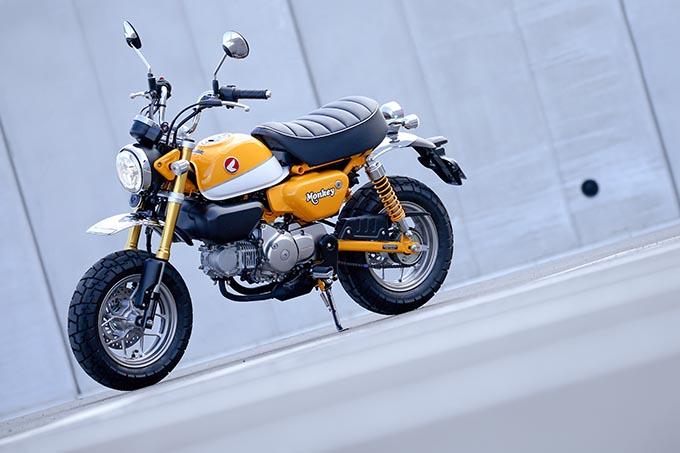 【モンキー125試乗記事】現代の交通事情にもマッチ! バイクとしての魅力を増した新型モンキー の画像
