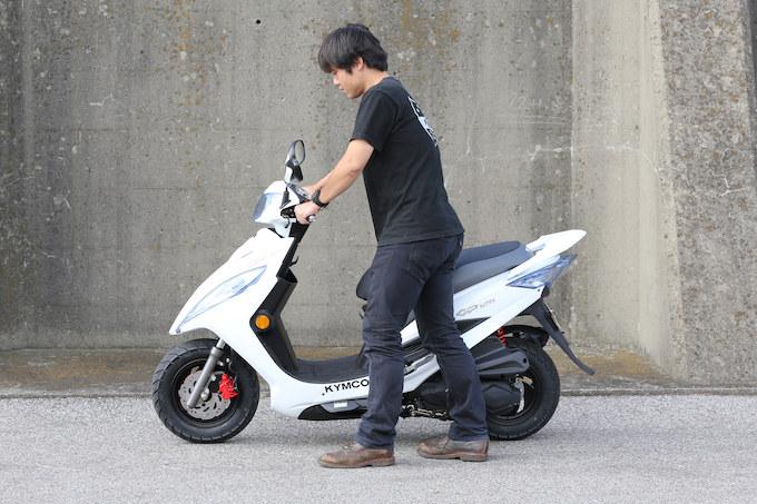 キムコ GP125iの試乗インプレッション