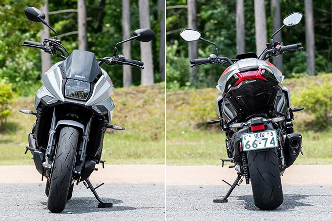 【スズキ 新型カタナ試乗記事】約20年の空白期間を経て、蘇ったKATANAの画像の試乗インプレッション