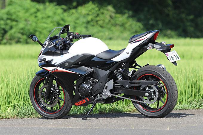 【スズキ GSX250R 試乗記】GSXブランドならではの、次元の高いトータルバランスが魅力の画像