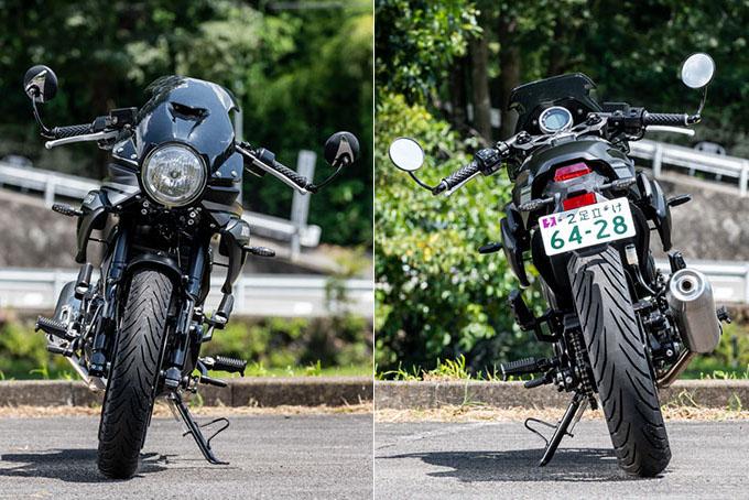 【GPX ジェントルマン200レーサー 試乗記事】往年の手法と現代の技術を融合したスポーティなカフェレーサーの画像の試乗インプレッション