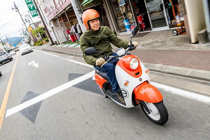 ヤマハ E-Vino試乗記事の画像