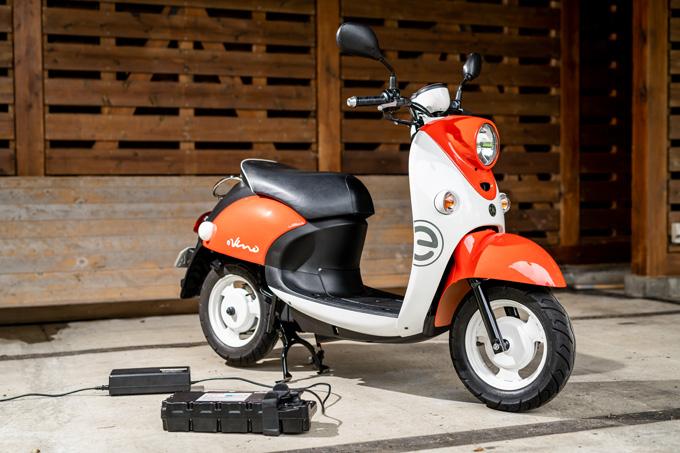 【ヤマハ E-Vino  試乗記】 旅バラエティ番組で飛躍的に知名度が上がった噂の電動バイクの画像