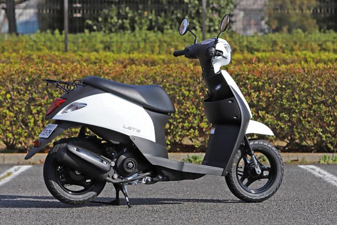 【スズキ レッツ 試乗記】「日常の足」として気軽に乗れる、カジュアルでスタンダードなスクーターの画像