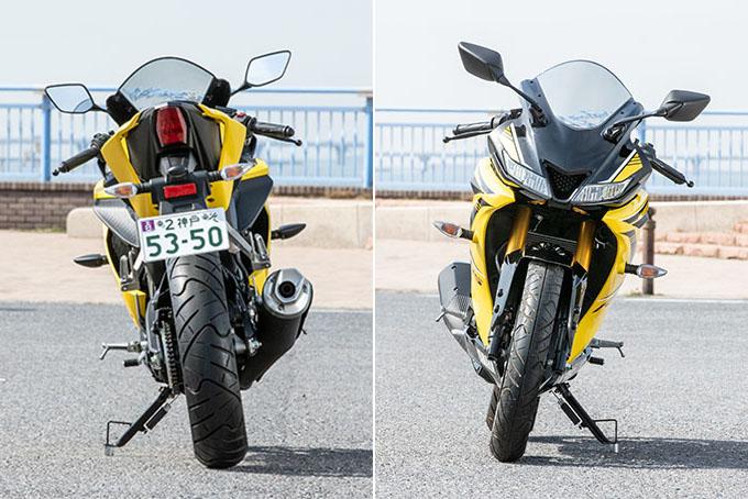 【ヤマハ YZF-R15 試乗記】激戦区をリードする155ccスーパースポーツの画像の試乗インプレッション