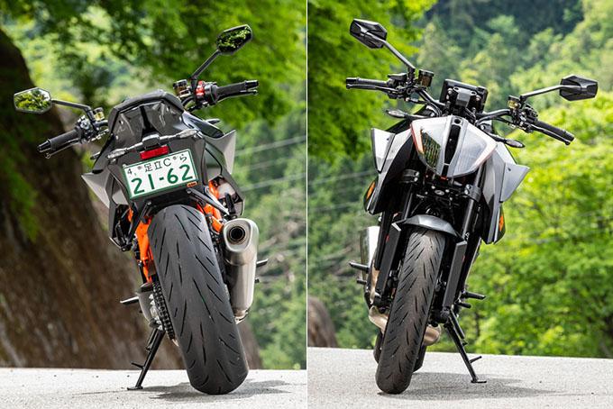 【KTM 1290スーパーデュークR 試乗記】 第3世代に進化した、KTM製オンロードスポーツの旗艦の10画像