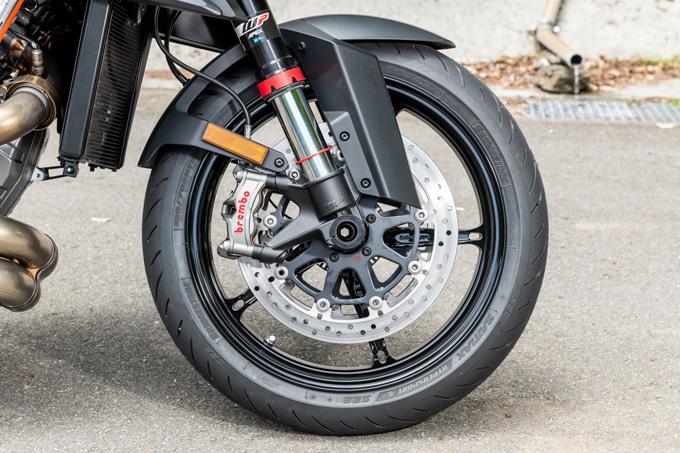 【KTM 1290スーパーデュークR 試乗記】 第3世代に進化した、KTM製オンロードスポーツの旗艦の23画像
