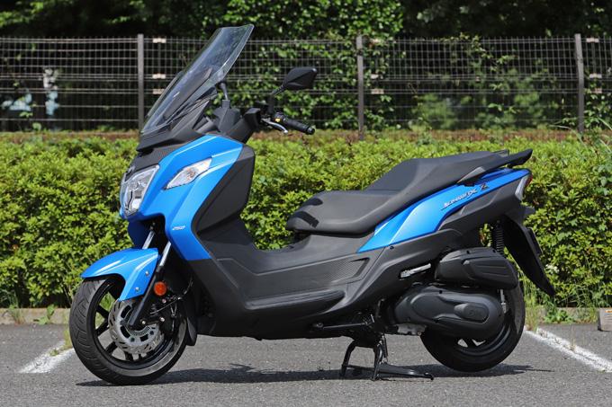 【SYM JOYMAX Z 250 試乗記】税込50万円を切る圧巻のコストパフォーマンス!走りと装備の基本をきっちりと押さえた250ccスクーターの04画像