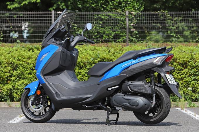 【SYM JOYMAX Z 250 試乗記】税込50万円を切る圧巻のコストパフォーマンス!走りと装備の基本をきっちりと押さえた250ccスクーターの05画像