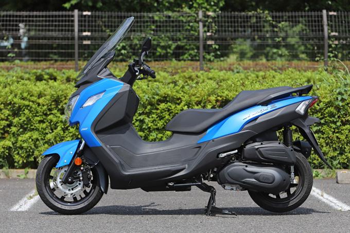 【SYM JOYMAX Z 250 試乗記】税込50万円を切る圧巻のコストパフォーマンス!走りと装備の基本をきっちりと押さえた250ccスクーターの07画像