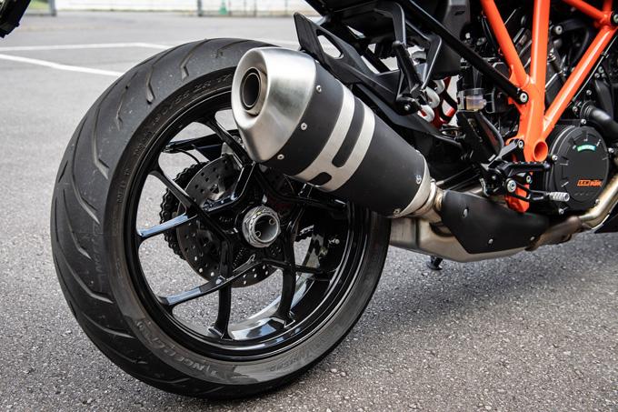 【KTM 1290スーパーデュークGT試乗記】とんでもなくスポーティな大陸横断ツアラーだの11画像
