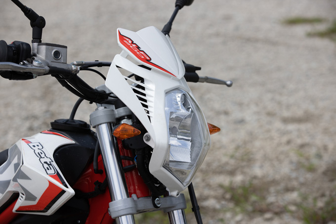 【ベータ アルプ200 試乗記】イタリアの名門が生んだ万能トレッキングマシンの09画像