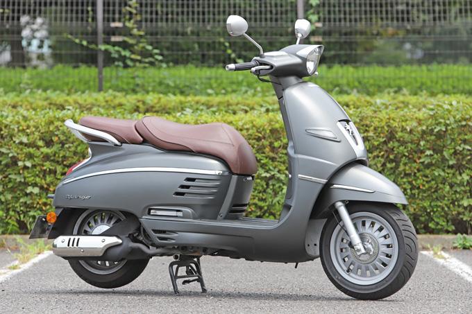 【プジョー ジャンゴ150 試乗記】乗り心地抜群!! 優雅で美しいフレンチスクーターの01画像