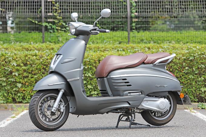 【プジョー ジャンゴ150 試乗記】乗り心地抜群!! 優雅で美しいフレンチスクーターの03画像