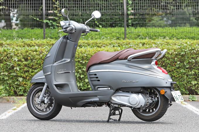 【プジョー ジャンゴ150 試乗記】乗り心地抜群!! 優雅で美しいフレンチスクーターの04画像