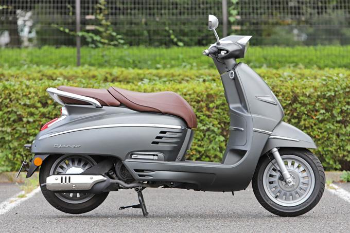 【プジョー ジャンゴ150 試乗記】乗り心地抜群!! 優雅で美しいフレンチスクーターの06画像