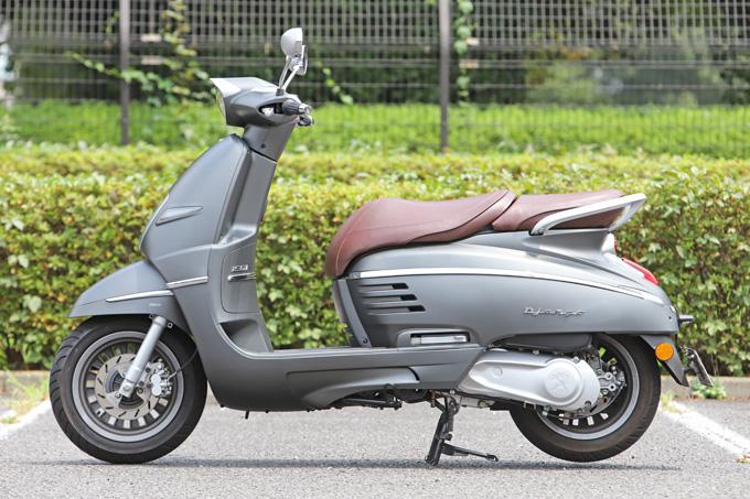 【プジョー ジャンゴ150 試乗記】乗り心地抜群!! 優雅で美しいフレンチスクーターの07画像