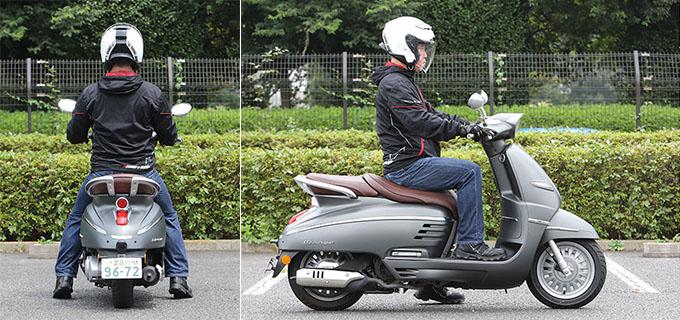 【プジョー ジャンゴ150 試乗記】乗り心地抜群!! 優雅で美しいフレンチスクーターの26画像