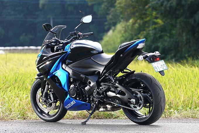 """【スズキ GSX-S1000F 試乗記】これ一台ですべてをまかなえる、ある種の""""アガリ""""バイク05画像"""