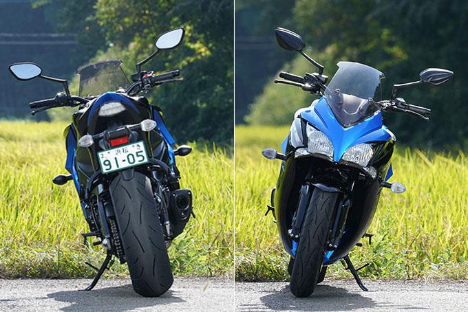 """【スズキ GSX-S1000F 試乗記】これ一台ですべてをまかなえる、ある種の""""アガリ""""バイクの10画像"""
