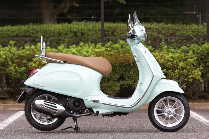 【ベスパ プリマベーラ150 試乗記】美しいボディラインが生み出す優雅さと、現代的な装備&走りを兼ね備えたイタリアンスクーターの06画像