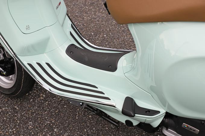 【ベスパ プリマベーラ150 試乗記】美しいボディラインが生み出す優雅さと、現代的な装備&走りを兼ね備えたイタリアンスクーターの19画像