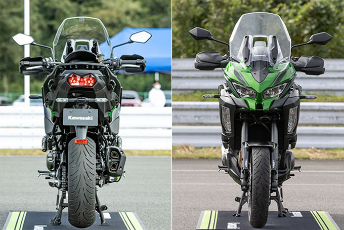 【カワサキ VERSYS 1000 SE 試乗記】バイクの楽しさはそのまま、疲れを軽減するSHOWAスカイフックテクを採用した2021年式欧州モデルをインプレッションの08画像