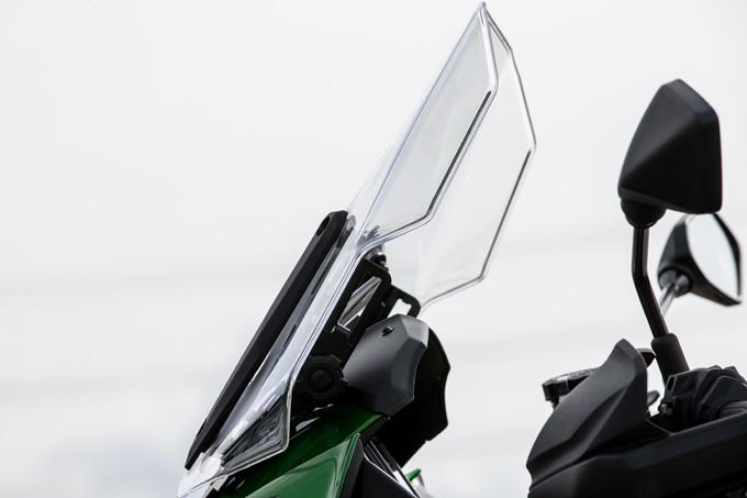 【カワサキ VERSYS 1000 SE 試乗記】バイクの楽しさはそのまま、疲れを軽減するSHOWAスカイフックテクを採用した2021年式欧州モデルをインプレッションの11画像
