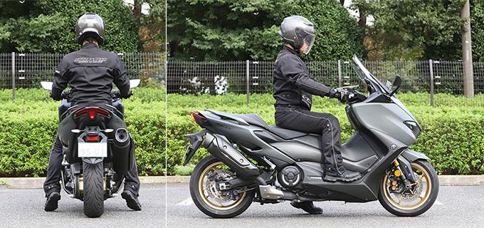 """【ヤマハ TMAX560 テックマックス ABS 試乗記】排気量アップで走りと快適性がさらに進化!スクーターを超えた""""オートマチックスポーツ""""の26画像"""