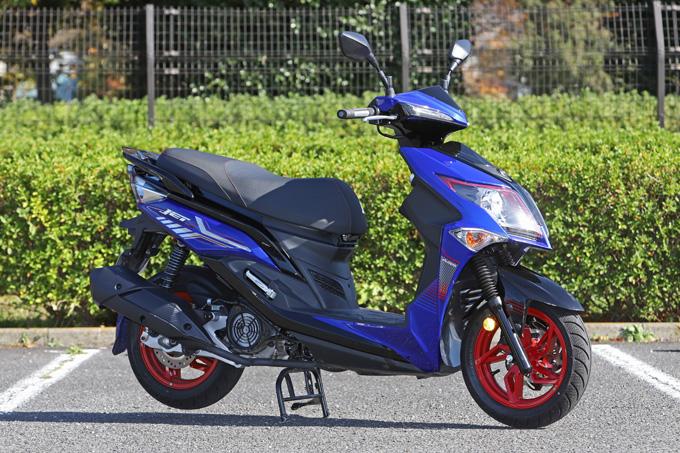 【SYM ジェットS 試乗記】軽いハンドリングと強力なダッシュが楽しい台湾発の125ccスポーツスクーターの01画像